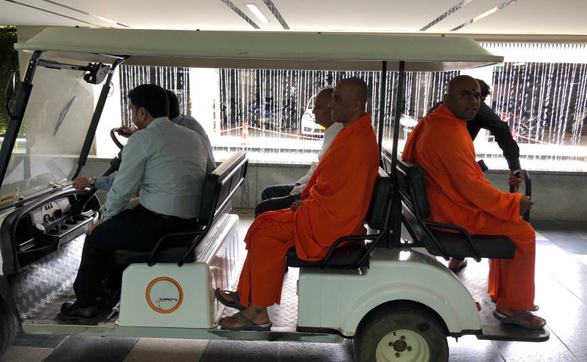 Guru på besøg i BhartiyaCity