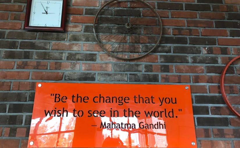 Gandhi Jayanti – national fridag på Gandhisfødselsdag